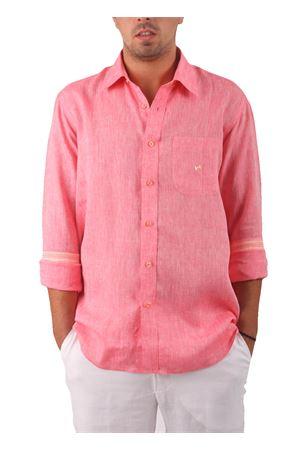 Camicia in puro  lino Colori Di Capri | 6 | CAMICIALINO UFRAGOLA
