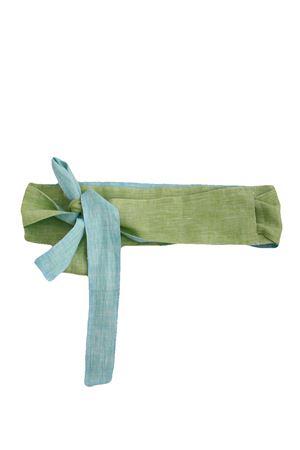 Linen belt Colori Di Capri | 22 | COLOR BELTVERDE/TURCHESE