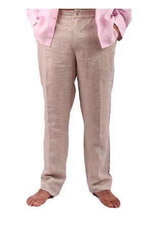 Pantaloni in lino Colori Di Capri | 9 | PANTALINO UBEIGE