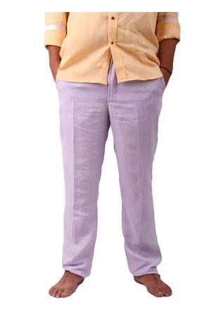 Pantaloni in lino Colori Di Capri | 9 | PANTALINO ULILLA