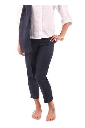 Pantaloni in lino Colori Di Capri | 9 | PANTALONI CAPRI COLORIBLU