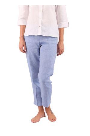 Pantaloni in lino Colori Di Capri | 9 | PANTALONI CAPRI COLORILINO