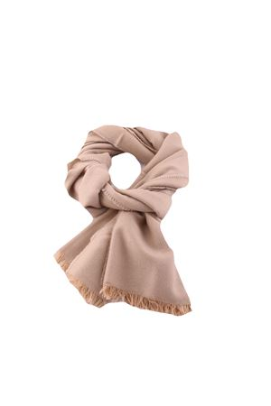 Silk and cashmere scarf Colori Di Capri | 77 | SCARFCACHEMIREBEIGE