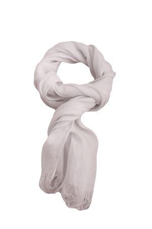 Customizable linen scarf Colori Di Capri | 77 | SCIARPA PERSONALIZZABILEBIANCO