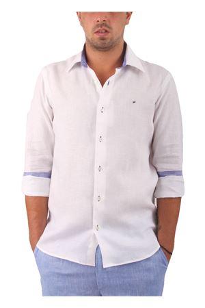 Camicia in lino Colori Di Capri   6   SLIM U LINOBIANCO