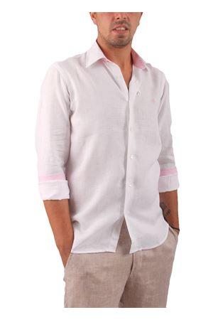 Camicia in lino Colori Di Capri | 6 | SLIM U LINORISV ROSA