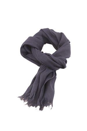 Blue linen scarf Colori Di Capri | 77 | TU SCARFBLU