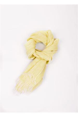 Sciarpa gialla in lino Colori Di Capri | 77 | TU SCARFGIALLO