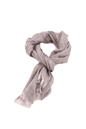 Grey linen scarf Colori Di Capri | 77 | TU SCARFGRIGIO