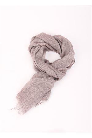 Linen scarf Colori Di Capri | 77 | TU SCARFMARRONE CHIARO