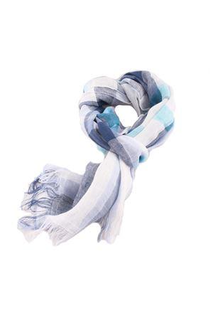 Multicolored linen scarf Colori Di Capri | 77 | TU4STRIPESAZZURRO