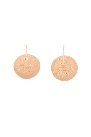 Orecchini a forma di moneta Alessandro Balsamo | 48 | ORECCHINI MONETAORO