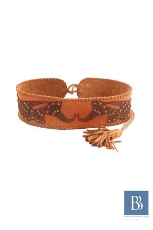 Leather handmade belt Antik Batik Antik Batik | 22 | BEL BELTMARRONE