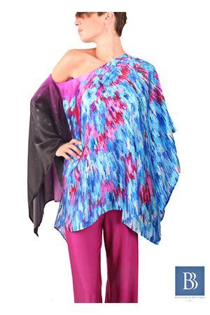 Pure silk tunic Capri Chic | 5032233 | CASACCA HETROBLU