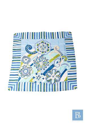 Silk scarf Capri Chic | -709280361 | FIORI RIGATOCELESTE