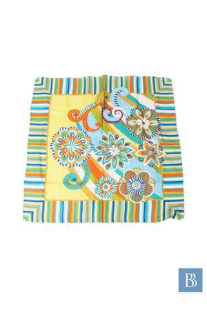 Silk scarf Capri Chic | -709280361 | FIORI RIGATOPISTACCHIO