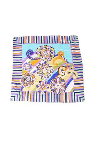 Silk scarf Capri Chic | -709280361 | FIORI RIGATOTURCHESE