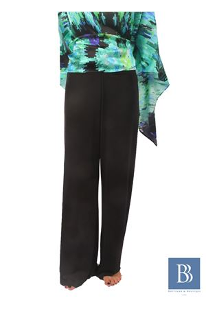 Wide stretch Pants in jersey Capri Chic | 9 | PANTAJERSEYNERO