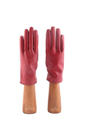 Guanti rossi in pelle artigianali Capri Gloves | 34 | CA1027RED