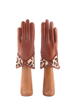 Spotted handmade gloves  Capri Gloves | 34 | CA2211LUGGAGE