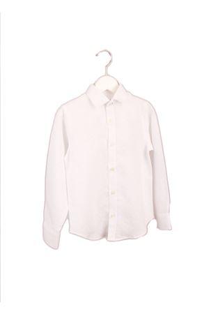 Camicia da bambino in puro lino bianca Colori Di Capri | 6 | BABY BUBBLESBIANCO