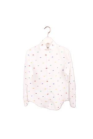 Camicia in puro cotone da bambino con ricamo converse Colori Di Capri | 6 | BABY CONVERSEBIANCO