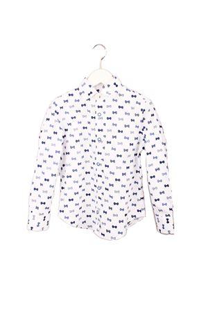 Camicia da bambino con fantasia di papillion Colori Di Capri | 6 | BABY PAPILLONBLU