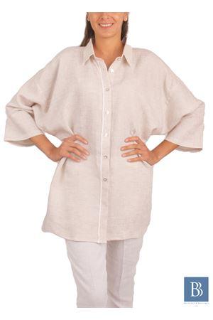 Handmade linen shirt Colori Di Capri | 6 | CAM SACCOBEIGE