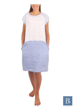 Handmade linen dress Colori Di Capri | 5032262 | MAYAZZURRO