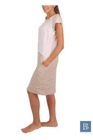 Handmade linen dress Colori Di Capri | 5032262 | MAYBEIGE
