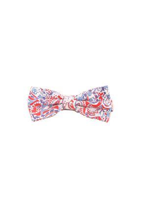 Cotton red bow tie Colori Di Capri | 20000037 | PAP04ROSSO