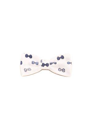 Cotton white bow tie Colori Di Capri | 20000037 | PAP05BIANCO