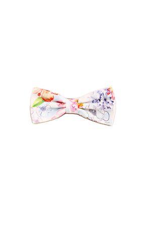 Cotton light  blue bow tie Colori Di Capri | 20000037 | PAP06AZZURRO