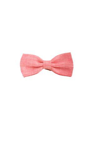 Linen pink bow tie Colori Di Capri | 20000037 | PAP11ROSA