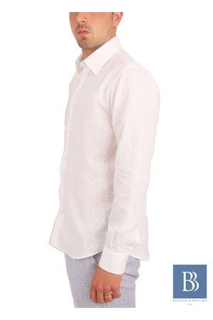 Men linen shirt Colori Di Capri   6   ROVESCIO SLIMBIANCO