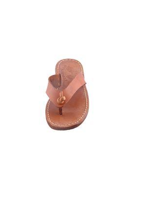 Sandali capresi da bambino modello Flip Flop Cuccurullo | 5032256 | BABY FLIPFLOPMARRONE