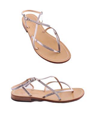 Handmade Capri Sandals Da Costanzo | 5032256 | 2013ARGENTO