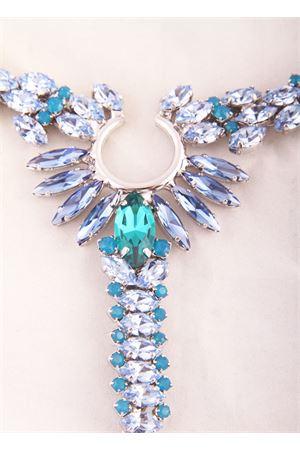 Light blue jewel sandals Da Costanzo | 5032256 | 3332AZZURRO