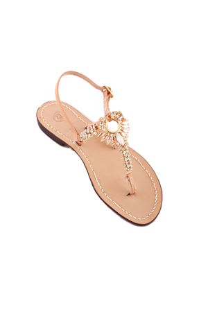 Jewel Capri sandals Da Costanzo | 5032256 | 3332ORO