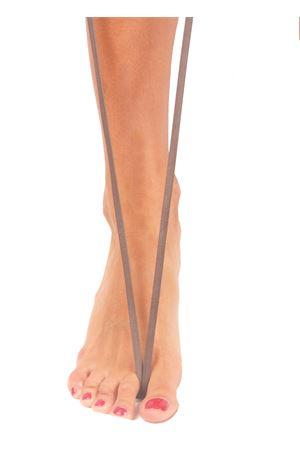Sandali capresi artigianali con fasce in pelle intrecciata Da Costanzo | 5032256 | ANELLO TRECCIATAUPE CHIARO