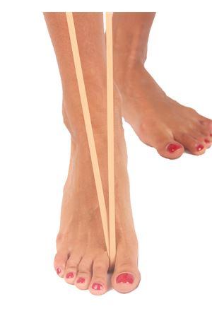 Sandali capresi artigianali con fasce in pelle intrecciata Da Costanzo | 5032256 | ANELLO TRECCIAVACCHETTA NATURALE