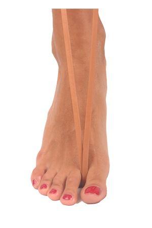 Sandali capresi artigianali con fasce in pelle intrecciata Da Costanzo | 5032256 | ANELLO TRECCIAVITELLO TABACCO