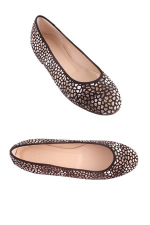 Crafted ballerinas shoes with majolica pattern Da Costanzo | 5032261 | BALLERINE MAIOLICABEIGE