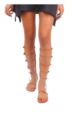 Gladiator Capri sandals Da Costanzo | 5032256 | CLEOMARRONE