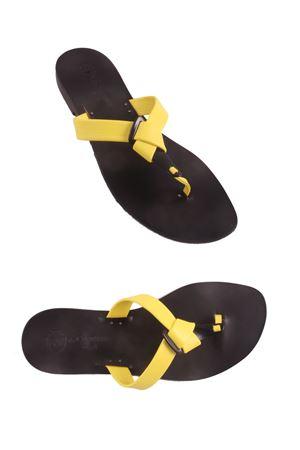 Handmade Capri sandals Da Costanzo | 5032256 | CRAVATTAGIALLO