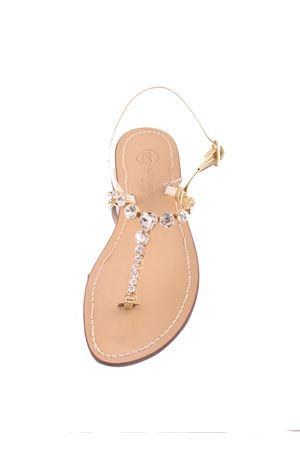 Jewel bridal sandals Forever model Da Costanzo | 5032256 | CUORECRYORO