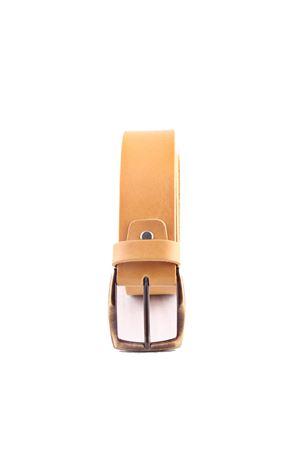 Cintura in pelle gialla Da Costanzo | 22 | FIBIA ASIMMETRICAGIALLO