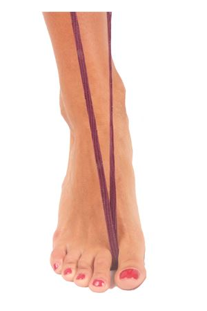 Gladiator capri sandals violet color Da Costanzo | 5032256 | GLADIATORE CAPRIIGUANA MALVA