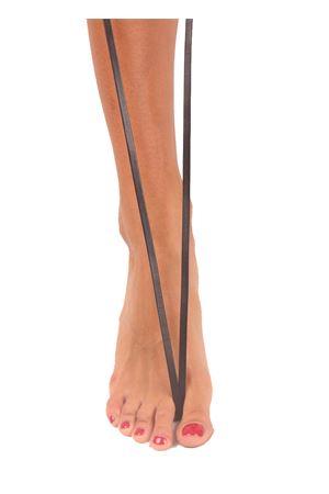 Sandali capresi neri modello Gladiatore Da Costanzo | 5032256 | GLADIATORE CAPRINERO