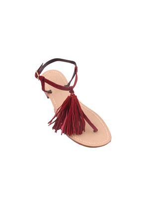 Da Costanzo Capri sandals with decorative tassels Da Costanzo | 5032256 | NAPPINE2CAMBORDEAU